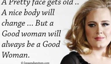 Always Be A Good Woman