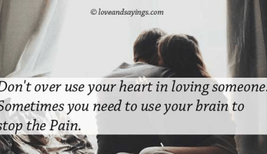 Don't Over use Your Heart