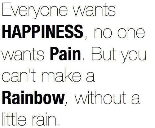 Everyone Wants Happiness No One Wants pain