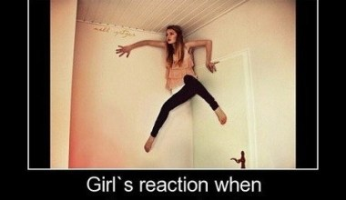 Girls Reaction When They See A ......