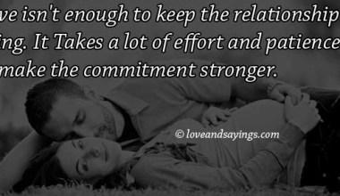 Make The Commitment Stronger