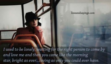 Waiting For The Right Person