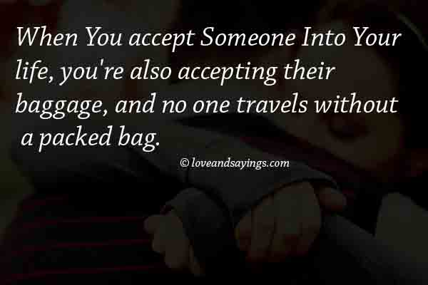 When You Accept Someone
