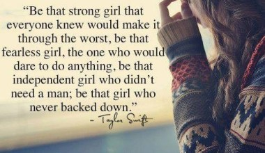 Be That Strong Girl