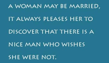 No Matter How Happily A Woman ...