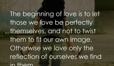 Beginning Of Love Is