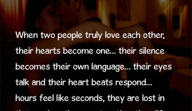 When Two People Truly Love..