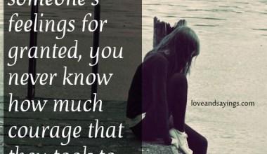 Feelings For Granted