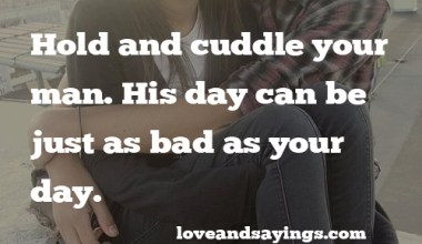 Hold And Cuddle Your