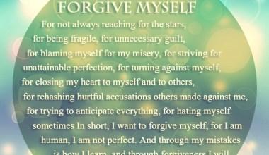 I Want To Forgive My Self