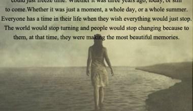 Making the Most beautiful memories