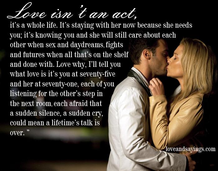 Break up but still love each other