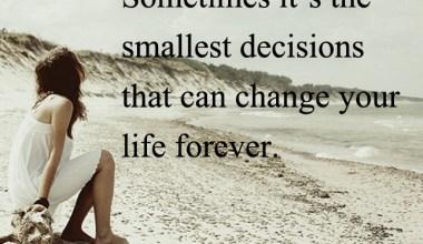 Smallest Decisions