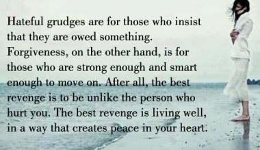 The Best Revenge is living well