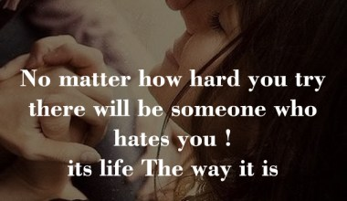 No Matter How Hard you try there