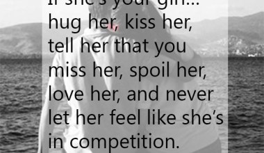 If she is your girl
