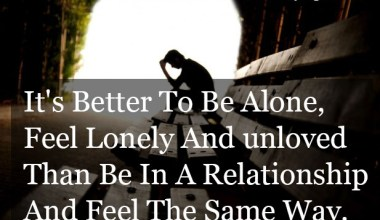 Lonely And Unloved