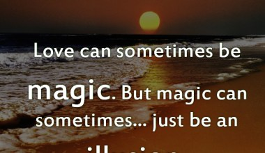 Love Can Sometimes Be Magic
