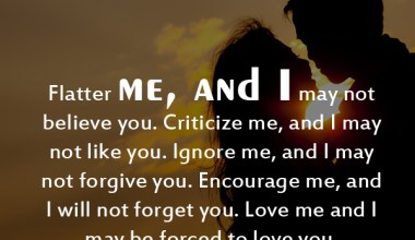 Love Me And I May Be Forced To Love You