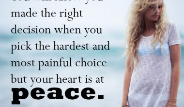 You Heart Is At Peace