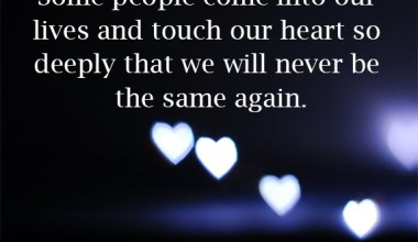Touch Our Heart So Deeply