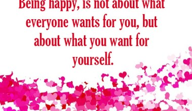 What You Want For Yourself