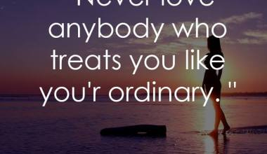 You're Ordinary