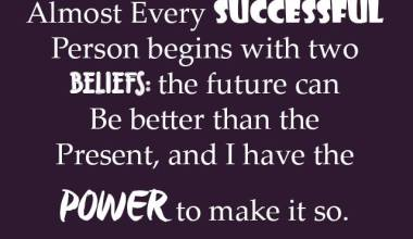 Almost Every Successful Person Begins With
