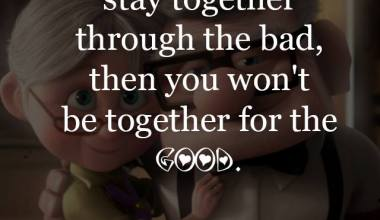 If you don't stay together