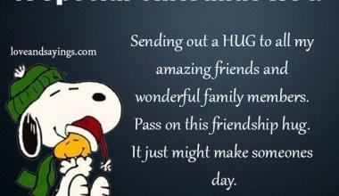A Special Christmas Hug
