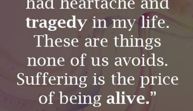 Being Alive