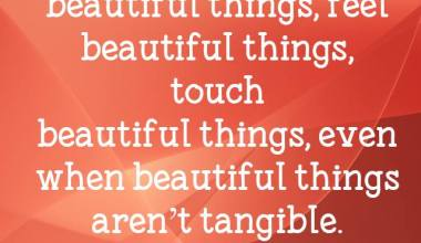 Soul Can See Beautiful Things
