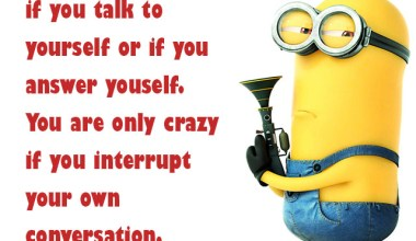 You Are Not Crazy If You Talk To Yourself