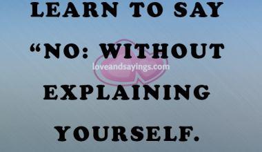 Explaining Yourself
