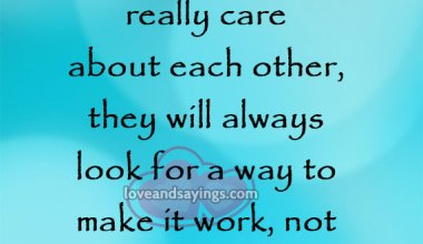 When Two People Really Care