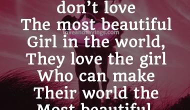 Who can Make Their World The Most Beautiful