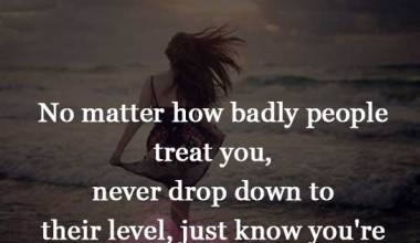 Being Treated Badly
