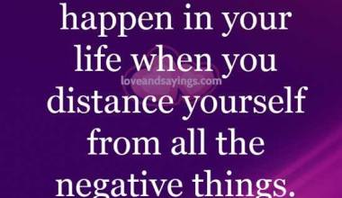 Things Happen in your life when you