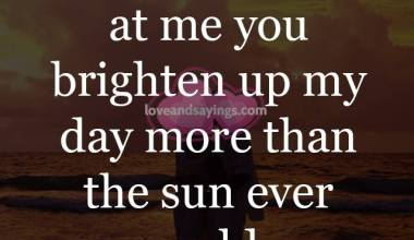 When You Smile At Me