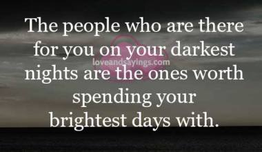 Darkest nights