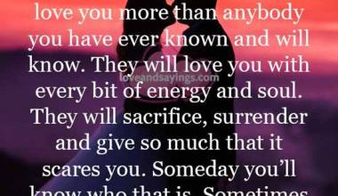 They will love you with every bit of energy