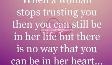 Way that you can be in her heart