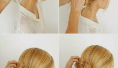 Easy Messy Buns For Long Hair Tutorial