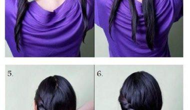 Hairstyle tutorials for this fall DIY long hair braid