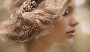 Messy Short Hairstyles for Weddings