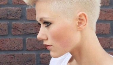 Faux Hawk Hairstyle for Summer Look