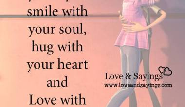Love with your spirit