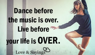 Live before your life