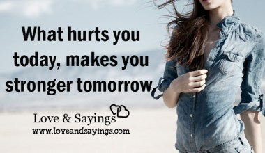 Makes you stronger tomorrow