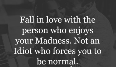 Who Enjoys your madness